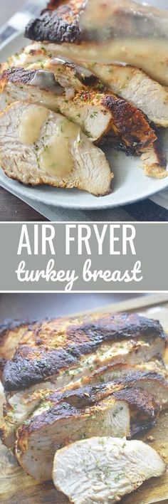 Air Fryer Turkey Breast - Recipe Diaries #AirFryer #airfryerrecipes #turkeyrecipes #ThanksgivingRecipes