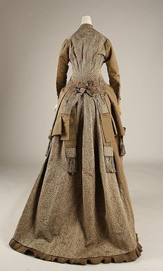 Afternoon dress 1874-75