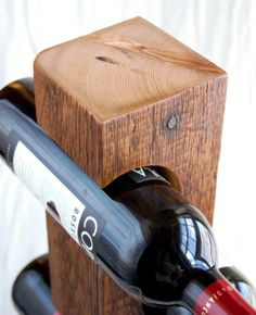 14 Original Wine racks from recycled materials | Recyclart