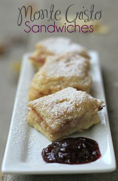 #ad Monte Cristo Sandwiches with Sargento® Slices #RealCheesePeople