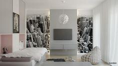 Pokoje dziecięce - room for the kids - New York modern interior design architect Marcin Śliwiński Poland  https://www.facebook.com/architectmarcinsliwinski?fref=ts