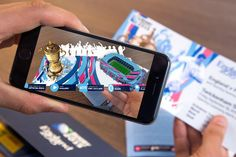 Augmented reality app shows fans tickets the stadiums and more info of where their visiting for Rugby World Cup http://www.rugbyworldcup.com/news/78091