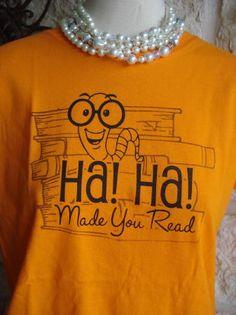 """Ha! Ha! Made you Read"""