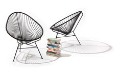 Acapulco Chair: Iconic Mexican chair of the 50's. Handcrafted in Mexico. #Chair #Acapulco_Chair
