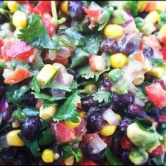 Black bean & corn salsa  (from Amy Yeary)