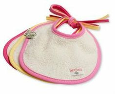 Imse Vimse Organic Cotton Terry Dribble Bibs - Shades of Pink