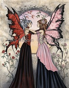 Amy Brown: Fairy Art - The Official Gallery - Sisters II