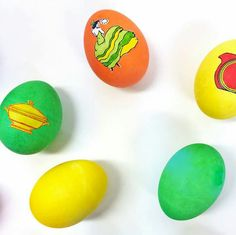 """""""We love adding a little Fiesta color to our Easter eggs! Find some tips on dying your eggs as well as Fiesta clip art to add to them on the blog:"""" http://alwaysfestive.com/2015/04/bright-bold-easter-eggs/ 