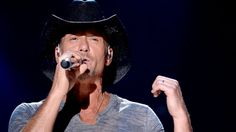Tim McGraw Fan Photographs | Tim McGraw performs onstage at the 2014 CMA Festival, June 5, 2014 in ...