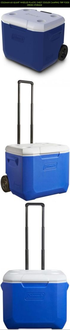 Coleman 60-Quart Wheeled Plastic Chest Cooler Camping Trip Food Drinks Storage  #gadgets #fpv #technology #camera #tech #kit #parts #plans #shopping #storage #60 #products #drone #quart #racing