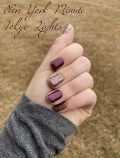 Nail Color Combos, Nail Colors, October Nails, Sassy Nails, Nagel Gel, Color Street Nails, Jamberry Nails, Creative Nails, Manicure And Pedicure