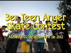 3er Teen Anger Skateboarding Contest - Alicante, 22 diciembre 2012