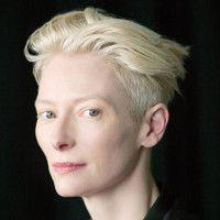 Beautiful blonde with light lashes.  Who needs black mascara