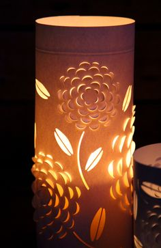 Stunning lanterns made from glass! Step by step tutorial here.