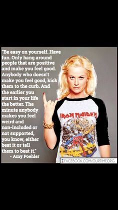 BEAT IT, JUST BEAT IT!!  I LOOOOVE HER and her t-shirt. I want that T-shirt NOW!!! EM