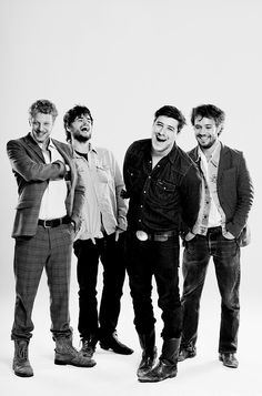 Mumford & Sons another folk or blue grass band probably have heard them on the radio some time or another. Wether it's little lion man or I will wait. U will love this band