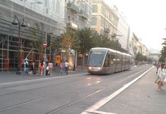 The Nice tramway is a 8.7-kilometre, single-line tramway in the city of Nice in Provence-Alpes-Côte d'Azur. It opened on 24 November 2007.