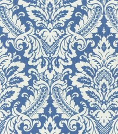 Waverly Upholstery Fabric-Warren Cornflower