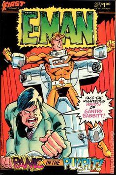 E-Man Comics (1983 First) 7 __UN__