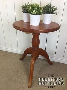 Small Pine Round Table. Farmhouse Rustic Pine Side Table. Lamp Table. The Furniture Recycling Shop, Bourne End.PaymentShippingReturn PolicyWhere to Find Our ShopAbout UsWhere to Find Our ShopAddress: The Furniture Recycling Shop, 1A Station Road, Bourne End, Buckinghamshire SL8 5QE  The Furniture Recycling Shop is located opposite Bourne End Rail Station. There is on-site car parking with additional pay and display car parking next to the train station. If you have any problems finding us…