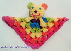 Hello, sunshine! This precious Rainbow Sunshine Lovey Blanket is perfect for any little baby. This bright, multicolored blanket will look great in any nursery room. The lovey is a popular style of baby blankets that is a bit smaller than your typical