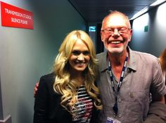 Carrie Underwood & Bob Harris
