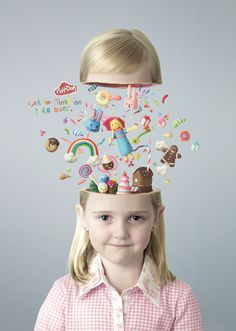 Play-Doh Advertising #affiche #campagne #pub