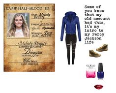 """""""my intro on Percy Jackson"""" by creative-with-fashion ❤ liked on Polyvore featuring River Island, Converse, OPI, Jimmy Choo, TheBalm, women's clothing, women, female, woman and misses"""