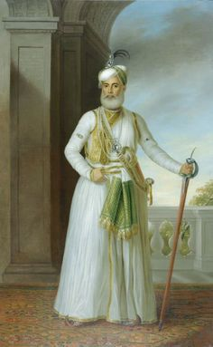 Muhammad 'Ali Khan, Nawab of the Carnatic Ancient Indian Paintings, Royal Indian, Indian Costumes, History Of India, French History, India Art, African Girl, Wallpaper Gallery, Turkish Art