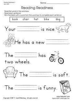 1st Grade Reading Worksheets, Literacy Worksheets, English Worksheets For Kids, Reading Comprehension Worksheets, First Grade Reading, Kindergarten Reading, Printable Worksheets, Grade 1 Worksheets, Free Worksheets For Kindergarten