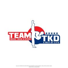 Create a impactful logo for a taekwondo school that offers so much more by…