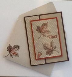 Autumn Leaves by gails - Cards and Paper Crafts at Splitcoaststampers by marcy