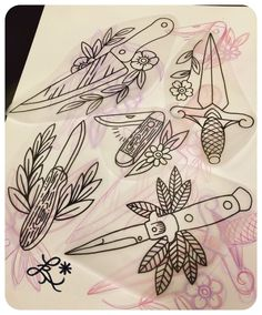 assorted stabby cuts by catxbone