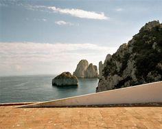 Villa Malaparte, Capri, Campania, Italia - Adalberto Libera