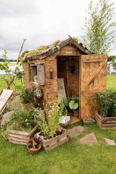 The Hungry Gardener's Shed at RHS Flower Show Tatton Park
