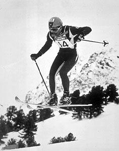 Jean-Claude Killy. 1968 Olympics.