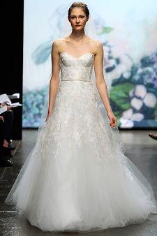 Monique Lhuillier | Martha Stewart Weddings
