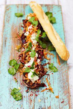Leftover Turkey Banh Mi | Jamie Oliver