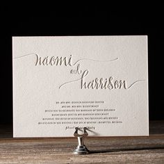 Destination wedding events to Hawaii, the Bahamas, the Virgin Islands, Maui, Jamaica and more are ending up being more and more popular as destination wedding planning online has actually ended up being simpler and easier. Wedding Invitation Wording Examples, Wedding Invitation Trends, Typography Wedding Invitations, Minimalist Wedding Invitations, Creative Wedding Invitations, Wedding Shower Invitations, Invites, Invitation Suite, Wedding Stationary