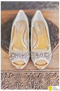 Love these gorgeous jeweled champagne flats by Antonio Melani.  Perfect for an outdoor bride who wants her feet to be comfortable!