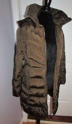Michael Kors Womens Parka Jacket Brown Belted Coat Small 129433 #MichaelKors #Parka #jacket #coat #parka #small #womenscoat #brown #dandeepop Find me at dandeepop.com