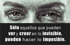 Creer en lo invisible