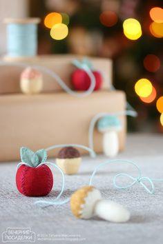 Новогодняя гирлянда / Christmas garland - Вечерние посиделки