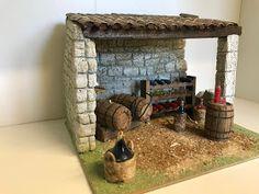 CHOISISSEZ LE MODÈLE QU 'IL VOUS FAUT ↓ ↓ ... Miniature Houses, Miniature Food, Medieval Town, Christmas Nativity, Diorama, Diy And Crafts, Creations, Cribs, Belem