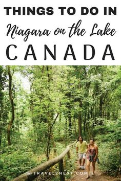 Things to do in Niagara on the Lake in Canada. Cool Places To Visit, Places To Travel, Travel Destinations, Travel Tips, Visit Canada, Canada Canada, Ontario Travel, Road Trip, Canada Travel