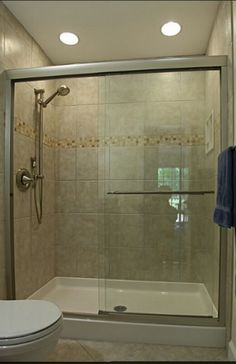 I like the solid shower pan....not the framed door though
