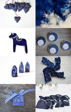 Blue Christmas palette #bluechristmas #christmasideas