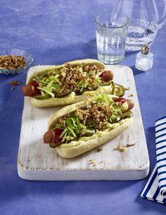 Unser beliebtes Rezept für Hot Dog-Baguette und mehr als 55.000 weitere kostenlose Rezepte auf LECKER.de.