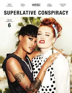 Superlative Conspiracy Magazine No.6    Online here: http://issuu.com/wesc1999/docs/superlativeconspiracyno6