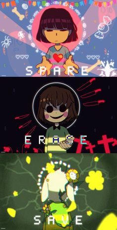 Spare, Erase, Save